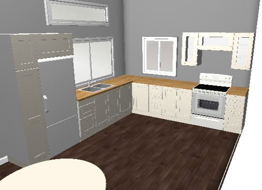Kitchen plan from the IKEA website, a rough idea of the space.